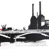 Battersea Bridge screenprint - limited edition of 4 - no longer available