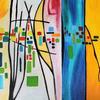 Beautiful sunset - abstract , prints 40x50cm  £25