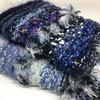 Hand cosies/muffs - close up of two in blue