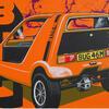 Bond Bug. Acrylics. 92x61cm.