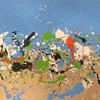 'Break'  Mixed Media on Beech panel  84 x 60cm