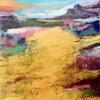 Breathing Fields III  _ Acrylic on wood panel _ 30 x 30cm Framed