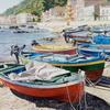 """Brian Robinson - Villagonia Sicily - watercolour - 12"""" x 17"""""""