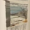 Bespoke made to order woven wall hangings inspired by landscapes