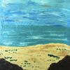 On the rocks, acrylics- Big and Bold