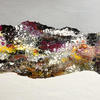 'Cellular Landscape Winter'  Mixed Media on Board  60x42cm