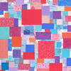 """Christine Calow - """"Pink City"""" Printed and collaged paper"""