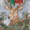 Christmas Stag, available as a greetings card!