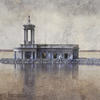 Normantion Church, Rutland Water, Digital limited edition print