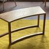'Rapport' coffee table. Reclaimed oak