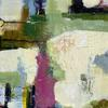 Coming Home. Abstract Landscape. Mixed media on Canvas Board