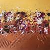 'Copper Glow'   Mixed Media on Board  60x42cm