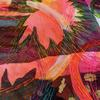 Cosmic Lily, detail, 30 x 46cm. Mixed media textile.