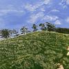 Countryside, Acrylic on Canvas, 30 x 40 cm