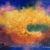 Creation - experimental watercolour using salt
