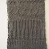cross and cross-over sampler, wool, 26x40 cm, £115