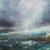 Cross shore Sou'westerly. Oil on canvas 75 x 63cm. Destinations