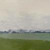 Foggy Day // Acrylic on Stretched Canvas (40 x 30 cm)