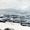 Ivinghoe Beacon in the Snow // Acrylic on Stretched Canvas (30 x 40 cm)