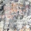 Blush abstract No.2, 20 x 20 cm acrylic on box canvas, print £20 +p&p
