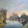 Last Light at Marsworth. Sunset/Autumn/ Canals/ Boats/Walking