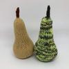 Knitted fruit - a couple of pears waiting for a tree and a partridge