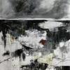 Dark Shadow. Mixed media on Canvas, framed
