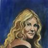 Oil painting of Debbie Moore from Pineapple Studios