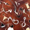 'Decrochement'  50 x 40cm  Oil on Canvas