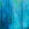 Blue Forest - 50x50cms - acrylic