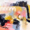 Sensory Garden - Mixed Media on Canvas