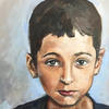 Portrait oil painting Dillion