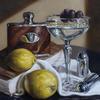 Dirty Martini -Original oil painting by Sabbi Gavrailov | Fine Art | 2021