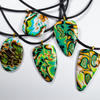 Polymer Clay and Rubber Pendants