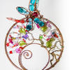 """Dragonfly"" Suncatcher Wirework By Artist Loren"