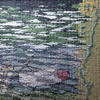Tapestry detail - Drinking Water? Image of New River, Hertford