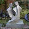 'Duo lll' Garden Sculpture by John Brown
