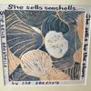 'She sells seashells' a limited edition of 15 linocut prints each individually signed and finished.