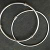 Silver Bangles with Circles