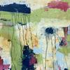 Early Spring. Abstract Landscape. Mixed media on Canvas Board