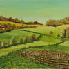 Eden Valley in Early Autumn. Oils on canvas. 24 inches x 16 inches #art #oils #landscape #countryside #oilcolour #painting #Edenvalley #England #LakeDistrtict #Lancashire #visiteden