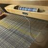 Weaving an art panel on an 8-shaft weaving loom