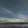 """""""Evening""""acrylic 76.5 x 44 cms,  On canvas framed  £295"""