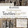 Exhibiting at Landmark Arts Centre Contemporary Textiles Fair 2020