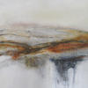 "Feeling The Heat"" mixed media  64 x 52cms.  On canvas framed. £295"