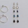 Hoop Earrings with Optional Attachments