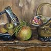 """Nostalgia""-Original oil painting by Sabbi Gavrailov | Fine Art | 2021"