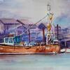 Fishing Boat - Walberswick.