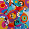 Freedom, size: 50x50x4 cm, acrylic on canvas