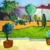Garden Series 5. -  landscape images from a summer garden